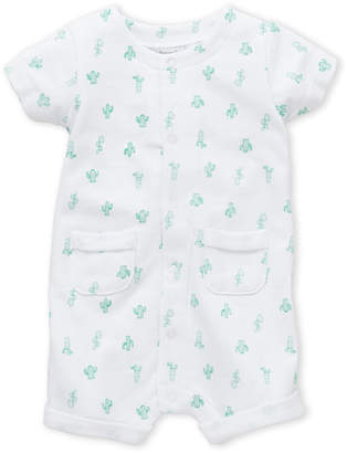 Absorba Newborn Girls) Cactus French Terry Romper