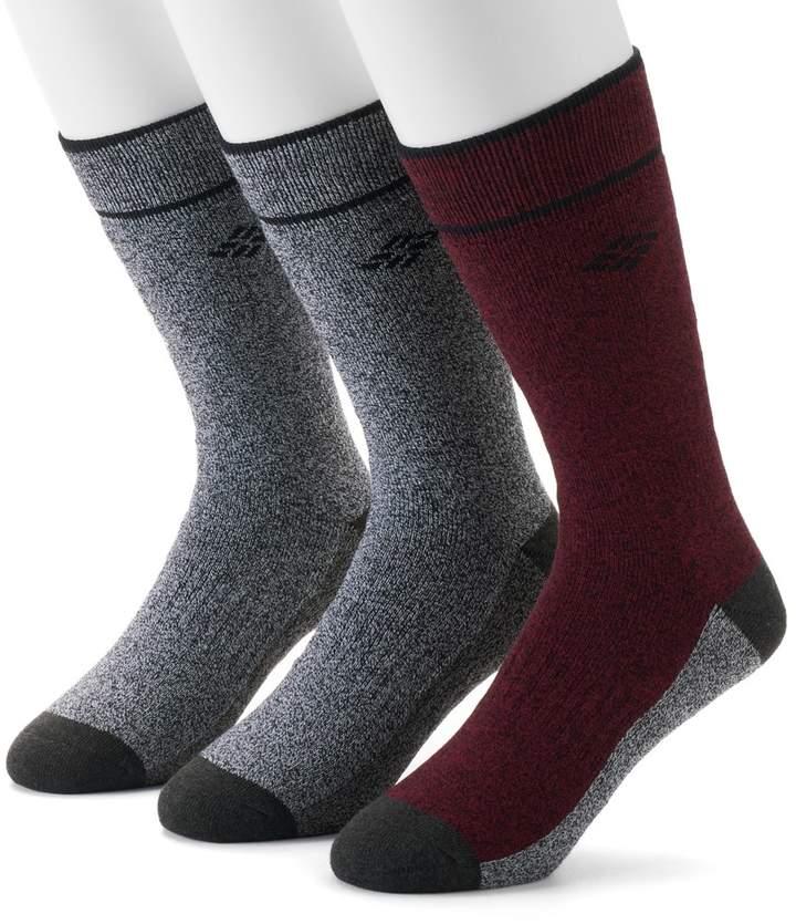 Men's Columbia 3-pk. Crew Socks