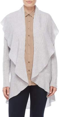 Qi Petite Cashmere Cocoon Cardigan