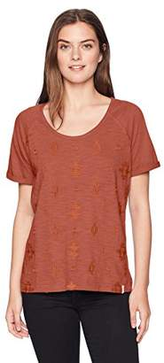 Woolrich Women's Bell Canyon Eco Rich Embroidered Tee