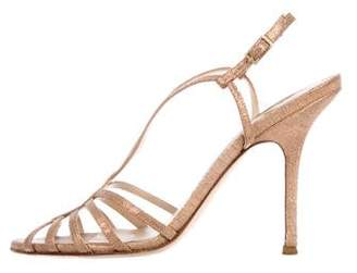 336effa12740ce Pre-Owned at TheRealReal · Jimmy Choo Strap Leather Sandals
