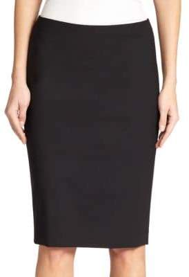 Theory Edition Wool-Blend Pencil Skirt