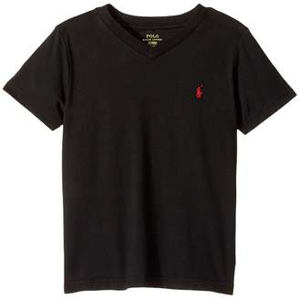 Polo Ralph Lauren Cotton Jersey V-Neck T-Shirt Boy's T Shirt
