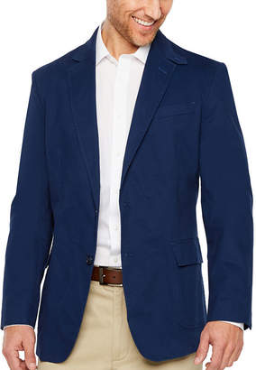STAFFORD Stafford Navy Utility Slim Fit Sport Coat