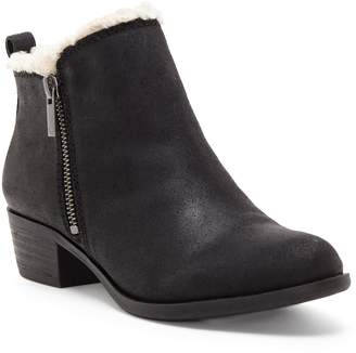 Lucky Brand Basel Faux Fur Lining Bootie