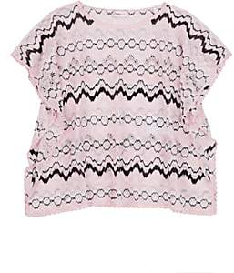 Missoni Kids' Zigzag Knit Cover-Up - Pink