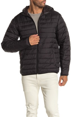 Hawke & Co Hooded Packable Down Jacket