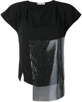 Paco Rabanne patchwork T-shirt
