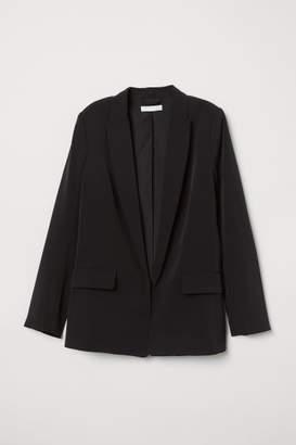 H&M Straight-cut Jacket - Black