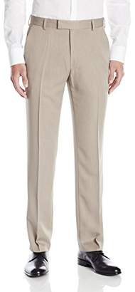 Kenneth Cole Reaction Men's Urban Heather Slim-Fit Flat-Front Dress Pant