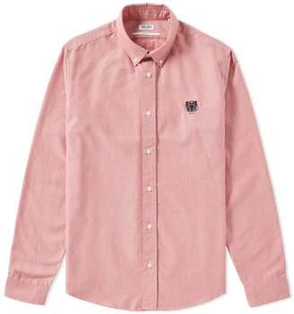Kenzo Button Down Tiger Oxford Shirt