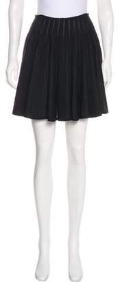 Alaia Flare Mini Skirt