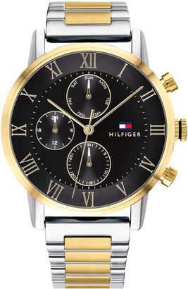 Tommy Hilfiger Men's Two-Tone Stainless Steel Bracelet Watch 44mm