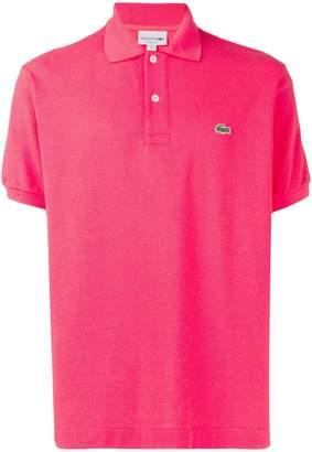 Lacoste contrast logo polo shirt