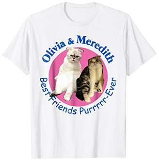 Olivia & Meredith Best Friends Purrrrr-Ever T-shirt