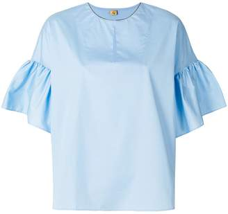 Fay flared sleeve blouse