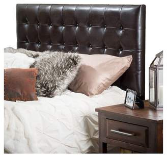 Christopher Knight Home Austin Tufted Bonded Leather Headboard King/California King Brown