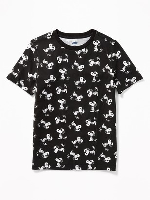 Old Navy Peanuts Snoopy & Woodstock Printed Tee for Boys