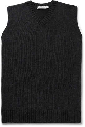 Inis Meáin Mélange Wool, Cashmere And Silk Sweater Vest