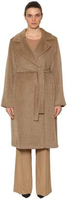 Marina Rinaldi Camel Wool Cloth Coat