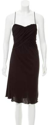 Armani Collezioni Sleeveless Midi Dress