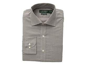 Lauren Ralph Lauren Classic Fit No-Iron Houndstooth Warren Dress Shirt