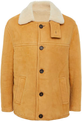Marni Suede And Shearling Coat