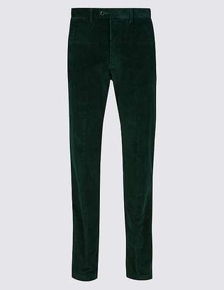 Marks and Spencer Cotton Rich Corduroy Trousers