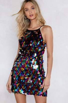 Nasty Gal Instant Party Sequin Dress