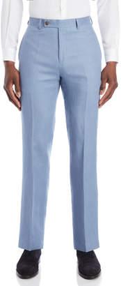 Lauren Ralph Lauren Light Blue Linen Dress Pants