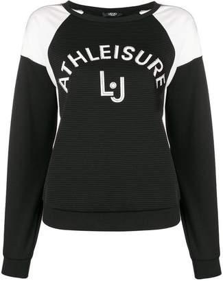 Liu Jo ribbed sweatshirt