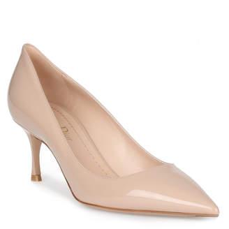 Christian Dior D-Stiletto 65 patent nude classic pump