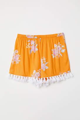 H&M Tasseled Shorts