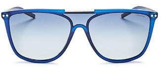 Polaroid Men's Zero Base Polarized Square Sunglasses, 57mm