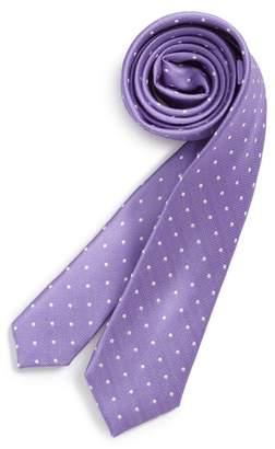 Nordstrom Dainty Dot Silk Tie