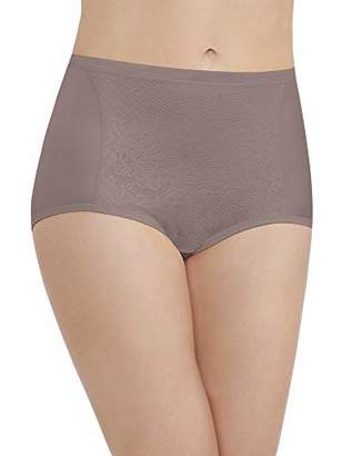 Vanity Fair Women's Smoothing Comfort with Lace Brief Panty 13262