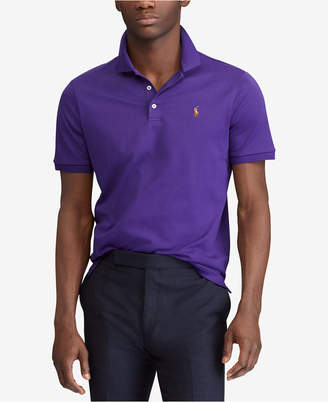 Polo Ralph Lauren Men's Big & Tall Classic Fit Soft-Touch Cotton Polo