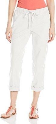 Dockers Women's Linen Capri $48 thestylecure.com