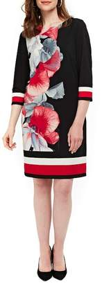 Wallis Orchid Print Tunic Dress