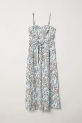H&M Bandeau Jumpsuit - Turquoise