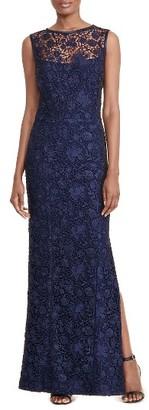 Women's Lauren Ralph Lauren Lace Gown $340 thestylecure.com
