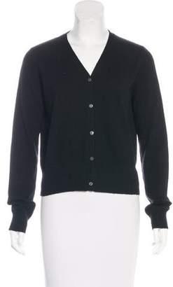 TSE Cashmere Button-Up Cardigan