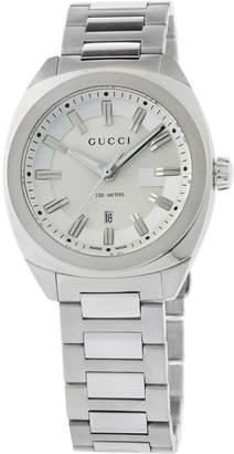 Gucci 37m Men's Stainless Steel Bracelet Watch