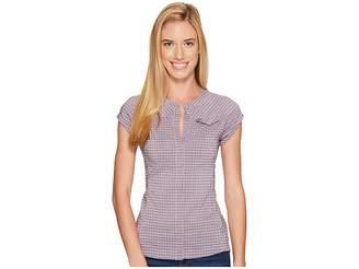 Fjallraven Abisko Stretch Shirt Short Sleeve Women's Short Sleeve Button Up