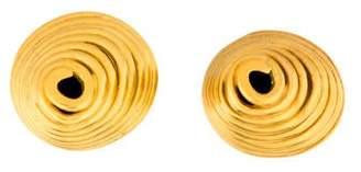 Robert Lee Morris Coil Clip-On Earrings