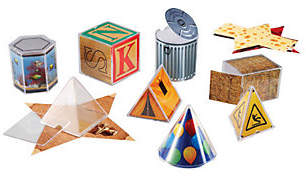 Learning Resources Real World Folding Geometric Shapes by Learning