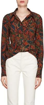 Chloé Women's Paisley Silk Shirt