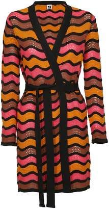M Missoni Striped Cardi-coat