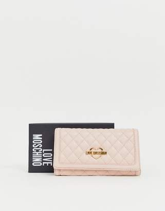 Love Moschino quilted purse on chain strap