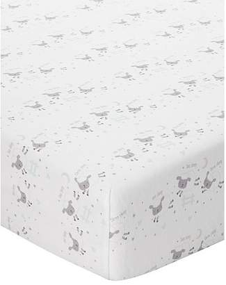 George Home Counting Sheep Cotbed Fitted Sheets - Set of 2